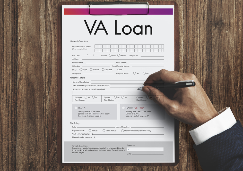 VA loan application denial